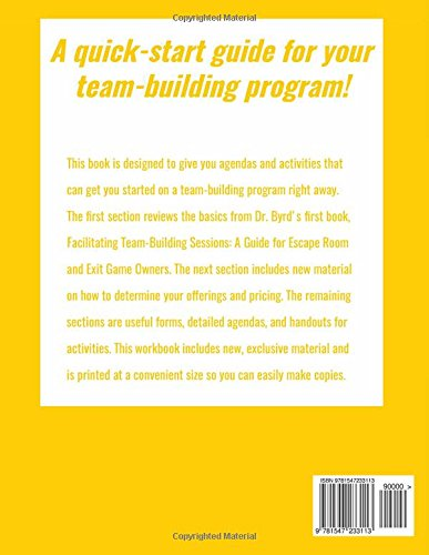 The Team Building Workbook For Escape Rooms Christy M Byrd