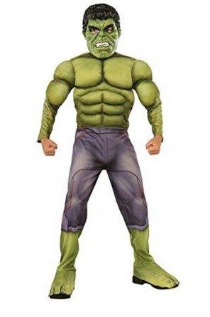 Child Deluxe Hulk Avengers 2 Costume Large -