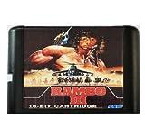 Taka Co 16 Bit Sega MD Game Rambo 3 16 bit MD Game Card For Sega Mega Drive For SEGA Genesis