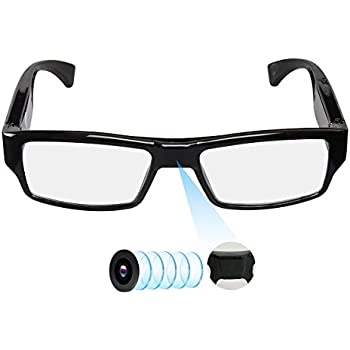 25e8280b56 Spy Camera Glasses with Video Support Up to 32GB TF Card 1080P Video Camera  Glasses Portable Video Recorder