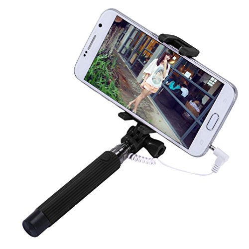 DZT1968 Extendable Handheld Self Pole Smartphone
