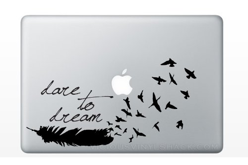 Vinyl Stickers Relationships Feathers Inspiration product image