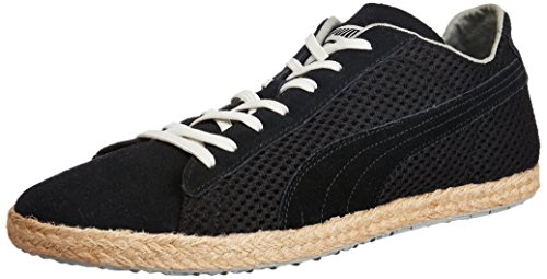 Puma - Zapatillas, tamaño 45 UK, color negro Negro (Schwarz (black-limestone gray-vaporous grey 01))