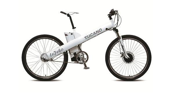 TUCANO Lejeko - Bicicleta eléctrica deportiva (Motor 250W - 36V ...