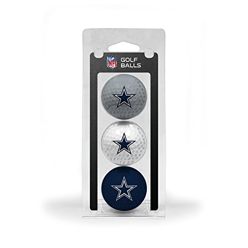 Cowboys Golf - Team Golf NFL Dallas Cowboys 3 Golf Ball Pack
