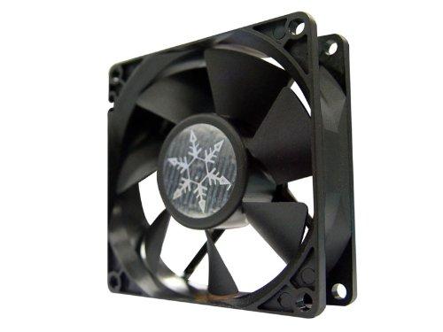 UPC 844761001377, Silverstone 80 mm Case Fan FN81 (Black)