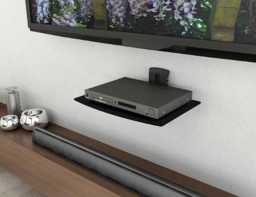 amazon com sonax c 701 scm dvd player wall shelf kitchen dining rh amazon com dvd player shelf wall mount dvd player floating wall shelf