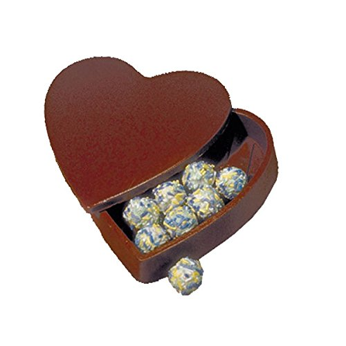 Chocolate Heart Pour Box Mold Set (Chocolate Box Mold Pour Bottom)
