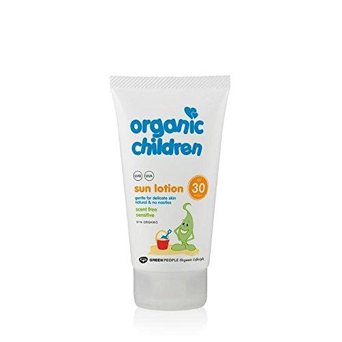 Organic Children SPF30 Scent Free Sun Lotion 150ml (Pack of 6) - 有機子ども30の香り無料のサンローション150 x6 [並行輸入品] B071RNB78C