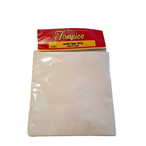 "Tamale 9""x9"" Paper Wraps 36 Sheets (Pack of 2)"