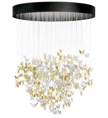 Lladro - NIAGARA CHANDELIER 2M GOLD (CE/UK)