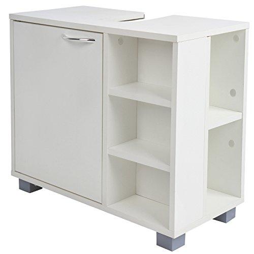 mobile bagno mobile bagno lavabo armadio bagno sottolavabo spazioso e resistente bianco amazonit casa e cucina