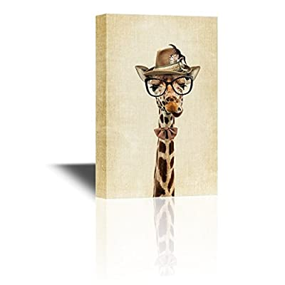 Funny Mr. Giraffe - Canvas Art