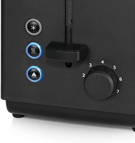 WMF Bueno Edition Toaster Edelstahl, Doppelschlitz- Toaster mit Brötchenaufsatz, 7 Bräunungsstufen, 800 W, edelstahl matt
