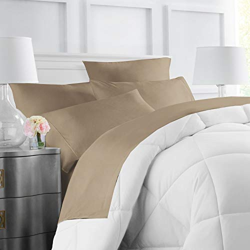 Egyptian Luxury Hotel Collection 4-Piece Bed Sheet Set - Deep Pockets