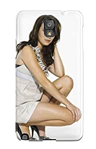 Galaxy Note 3 Hard Back With Bumper Silicone Gel Tpu Case Cover Emma Roberts?wallpaper
