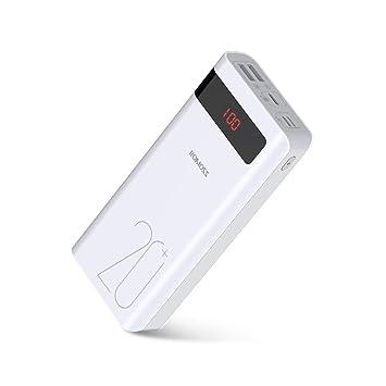 Romoss Bateria Externa para Movil, Power Bank 20000 mAh, 18W ...