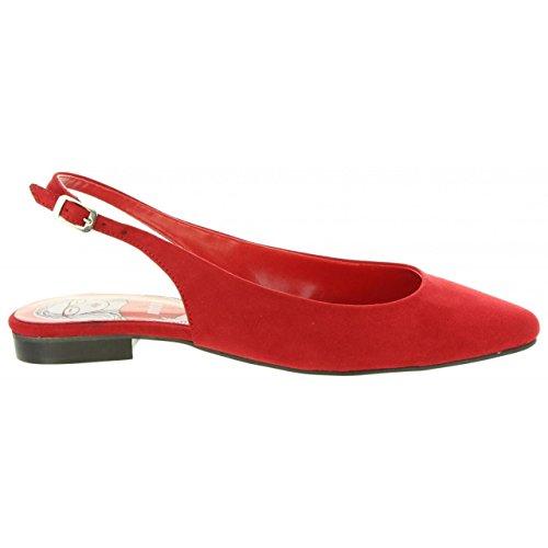 57772 C5024 Donna MTNG Rojo Baily per Scarpe qHOxnwFt