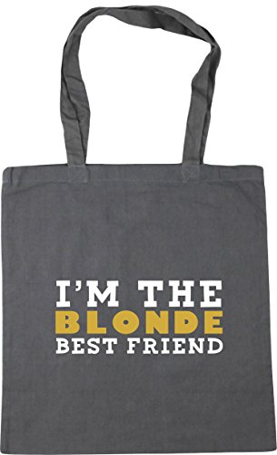 litres 42cm blonde Tote HippoWarehouse friend Grey 10 best Shopping Bag the Beach Graphite Gym I'm x38cm 1vqAOf