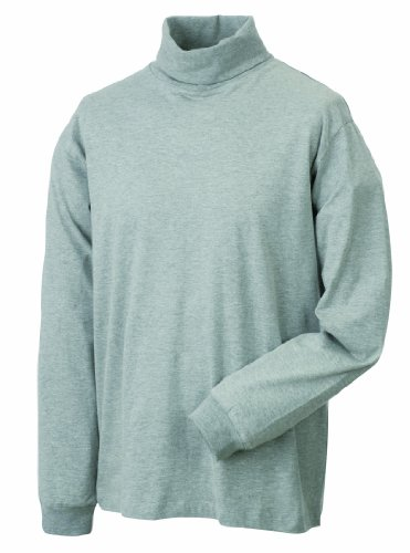 Rollneck Shirt, grey-heather, M
