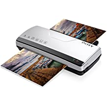 INTEY Thermal Laminator A4 with Two Roller System Fast Warm-up Quick Laminating Speed(Complimentary:Laminating Sheets)