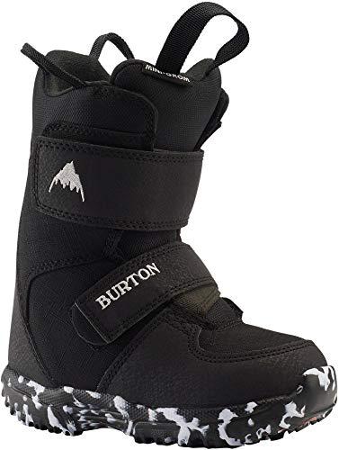Burton Mini Grom Snowboard Boots Kid's Sz 7C Black