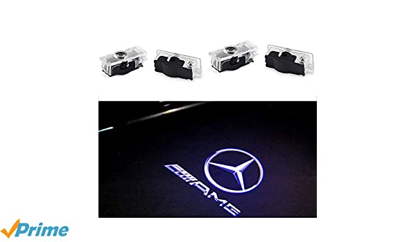 ZHANGNA 4 Piezas Car Puerta Logo Proyector Bienvenido Ghost Sombra ...