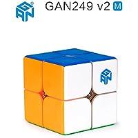 CuberSpeed Gan 249 V2 M 2x2 stickerless speed cube Gan249 V2 Magnetic 2x2 cube