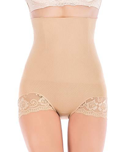 DODOING Women Body Shaper Butt Lifter High-Waist Cincher Shapewear Tummy Control Boyshorts