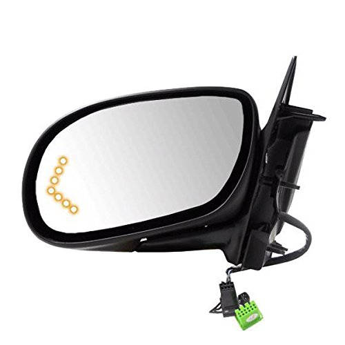 03-05 Park Avenue Power Heat w/Turn Signal Glass Folding Mirror Left Driver Side