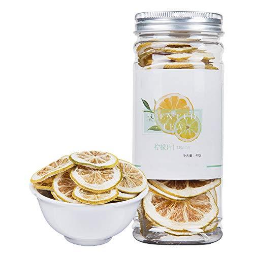 (Lemon Slices Tea,Organic Nature Sun-Dried Lemon Slices,Fragrance Citrus Fruit,Chinese Flora Herbal Tea Supplement-45G)