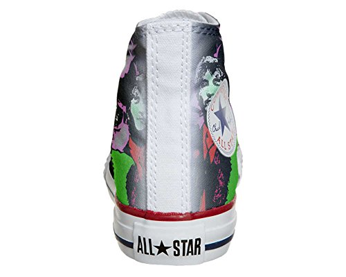 Converse Customized Adulte - chaussures coutume (produit artisanal) Beatles