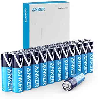 Anker Alkaline AA Batteries (24-Pack), Long-Lasting & Leak-Proof with PowerLock Technology, High Capacity Double A Batteries with Adaptive Power and Superior Safety
