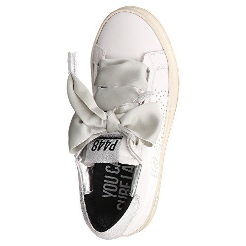 Fiocco P448 Con A Basse Scarpe 0 whi E8ralph2 Lacci Donna Sneaker Sqx07rwS