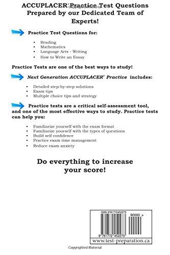 Next Generation Accuplacer Practice: Next Generation