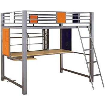 Amazon Com Powell Teen Trends Study Loft Bed Full