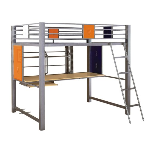 Powell Teen Trends Study Loft Bed, Full