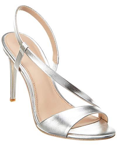 Rachel Zoe Women's Nina Heeled Sandal Silver 7 M US ()