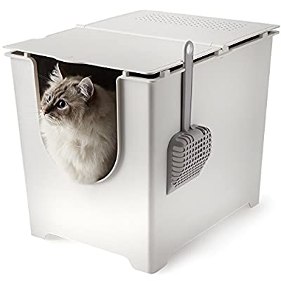 Flip Litter Box. Easy to Clean. Flexible for Your Cat. Seamless.