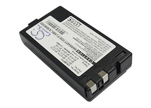 Cameron Sino 2100mAh Ni-MH High-Capacity Replacement Batteries for Canon E61, ES900, ES180, UC2Hi, E53, ES80, fits Canon BP-711, BP-714, BP-726, BP-818