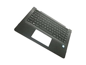 HP 924117-041 Carcasa inferior con teclado refacción para ...