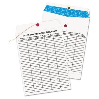 Quality Park 63663 Inter-Office Envelopes, 10''x13'', 100/BX, White by Quality Park