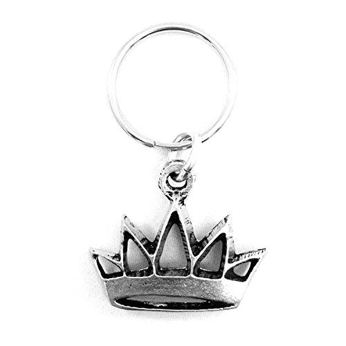 Zeta Tau Alpha Metal Mascot Keychain (Crown)