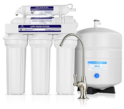 APEX MR-5050 5 Stage Reverse Osmosis Drinking Water System - Made in U.S.A.