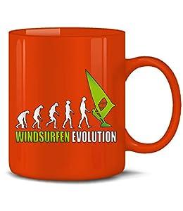 WINDSURFEN EVOLUTION 626(Rot-Grün)