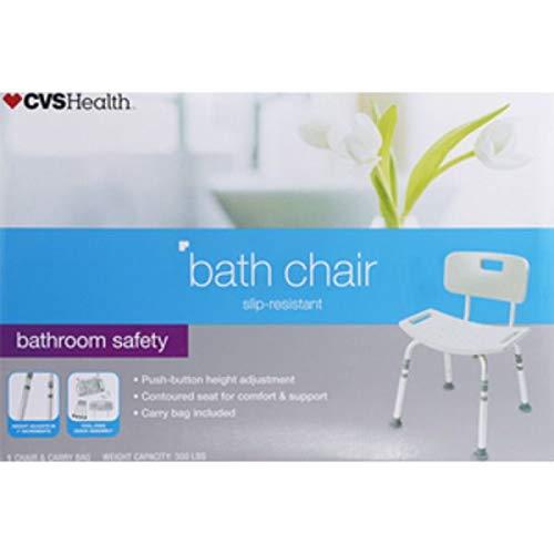 Expect More CVS Ready Set Go Deluxe Aluminum Bath Bench