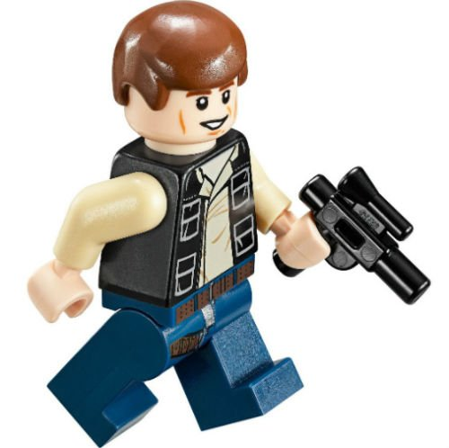 Last-Cheap-NEW-HAN-Solo-Minifig-Lego-Star-Wars-Figure-Mos-Eisley-75030-Toy-Minifigure-75052-No167