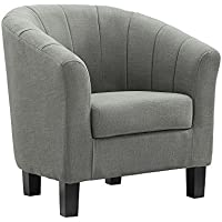Dorel Living Evelyn Chair, Gray