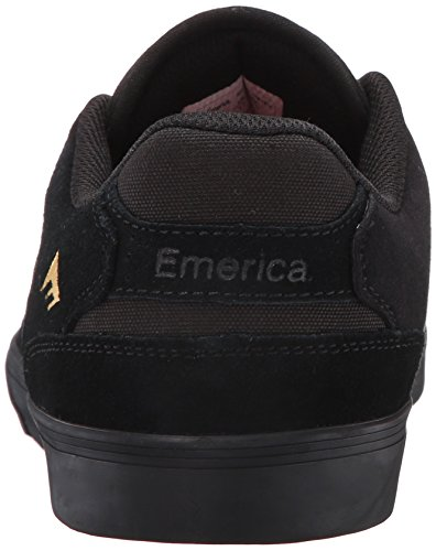 Emerica The Reynolds Low Vulc Gum - Zapatillas de skate Hombre Noir (Black Gold 970)