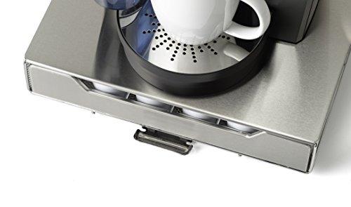 NIFTY 6498 Keurig Brewed Stainless Steel K-Cup Rolling Drawer, Metallic